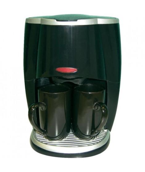 Cafetiere Automatique 12V avec 2 Mugs de 0,27 Litre de Chaque
