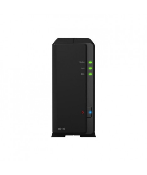 SYNOLOGY Serveur NAS 1 baie DS118