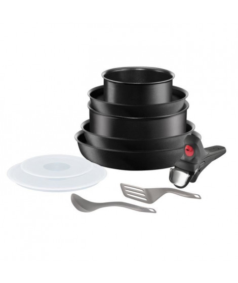 TEFAL INGENIO PERFORMANCE Batterie de cuisine L6999002 10 pieces 18-22-24-26cm tous feux dont induction