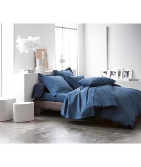 TODAY Housse de couette CIEL D'ORAGE 220x240cm 100% coton - Bleu Orage