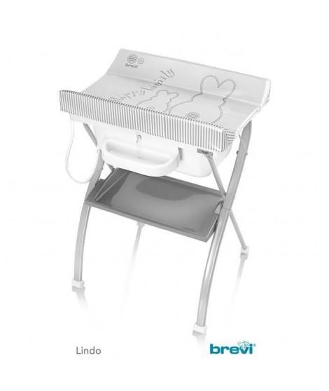 BREVI Table A Langer Lindo + 1 Bac de Rangement