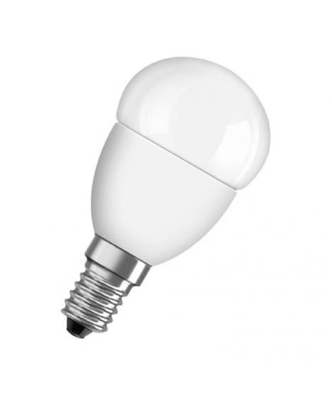 OSRAM Ampoule Led E14 sphérique dépolie blanc chaud 6W équivalent 40W Star