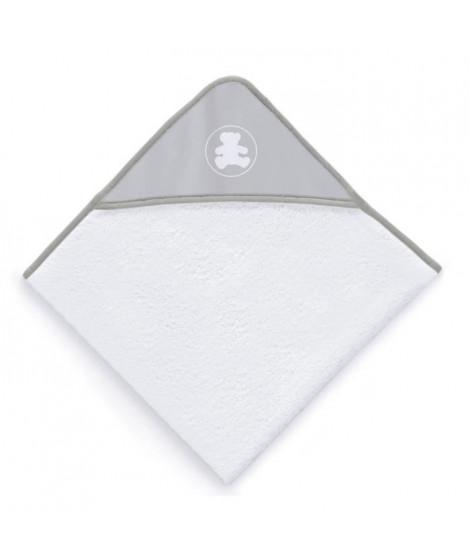 LULU CASTAGNETTE Sortie de bain Coton Brodé All Lulu 100x100 cm Gris