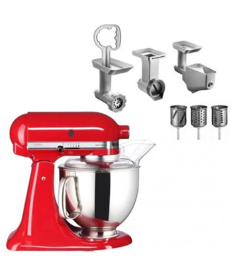 Robot Kitchenaid 5KSM150PSEER + Kit Accessoires
