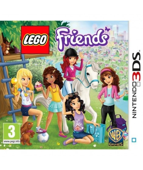 LEGO FRIENDS -  Jeu console  3DS