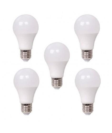 XQ-LITE Lot de 5 ampoules LED A60 E27 dimmable 13W équivalence 75W