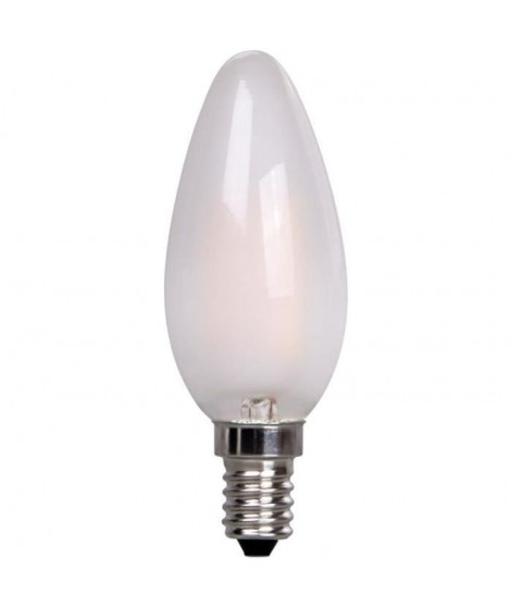XQ-LITE Ampoule LED filament E14 flamme 2W équivalence 20W Frost