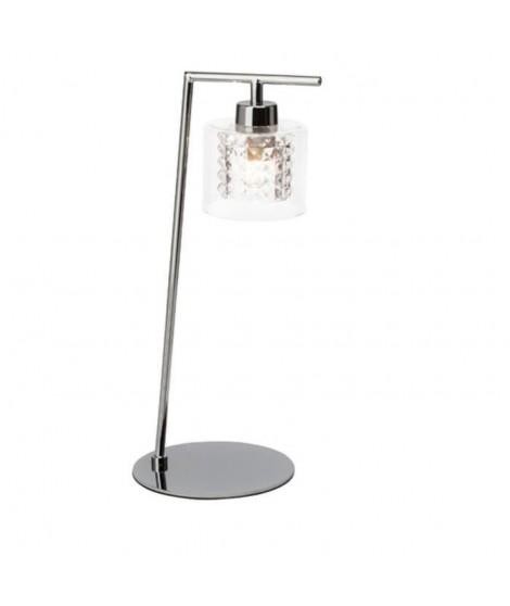 BRILLANT Lampe a poser 32 W chromé
