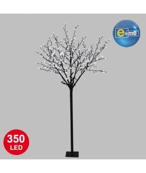 Arbre de Noël cerisier 350 LED 210 cm blanche