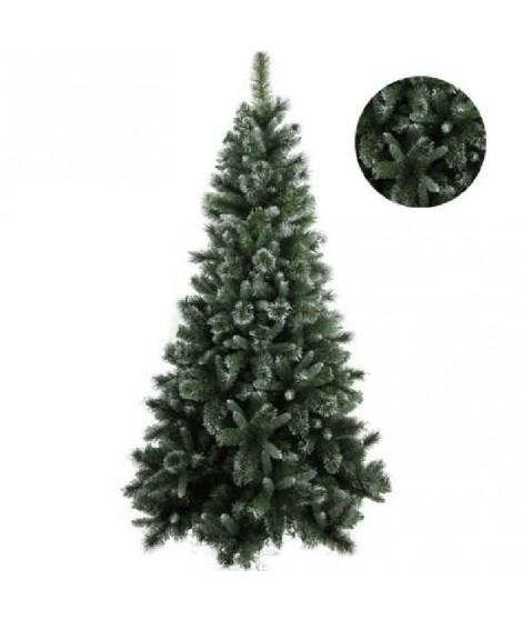 FORET ENCHANTEE Sapin de Noël Luxe Ottawa 899 branches 195 cm vert