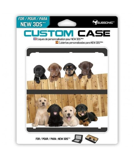 Coque Dogs New 3DS
