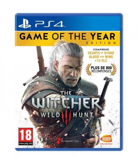 The Witcher 3 : Wild Hunt Goty Edition Jeu PS4