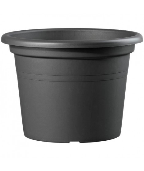 DEROMA Pot Farnese - 50 x 50 x 34,9 cm - 41 L - Anthracite