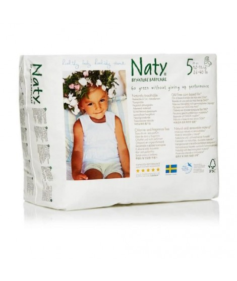 NATY Culottes d'apprentissage Junior - 20 pcs - T5