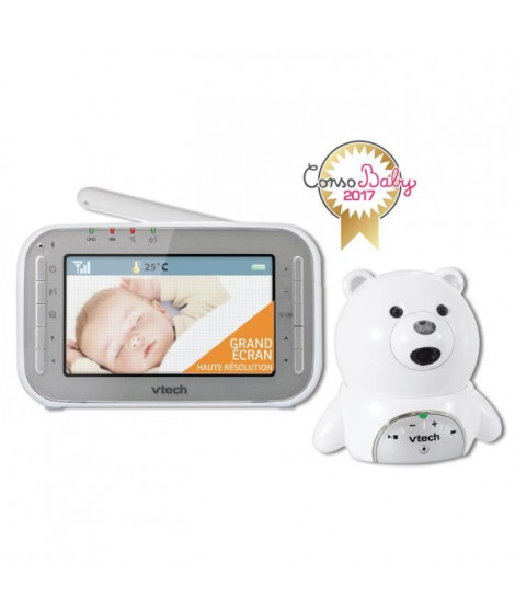 VTECH Babyphone Vidéo XL Ourson BM4200