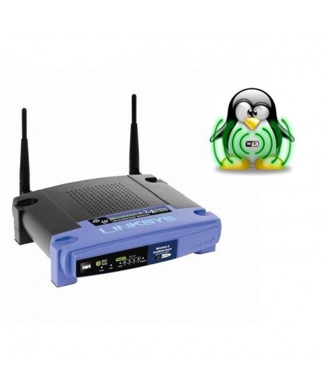 Linksys WRT54GL Routeur Wifi 54G Opensource Linux