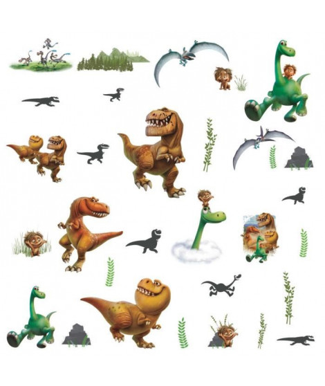 LE VOYAGE D'ARLO Multi Stickers 19,5 x 26,16 cm