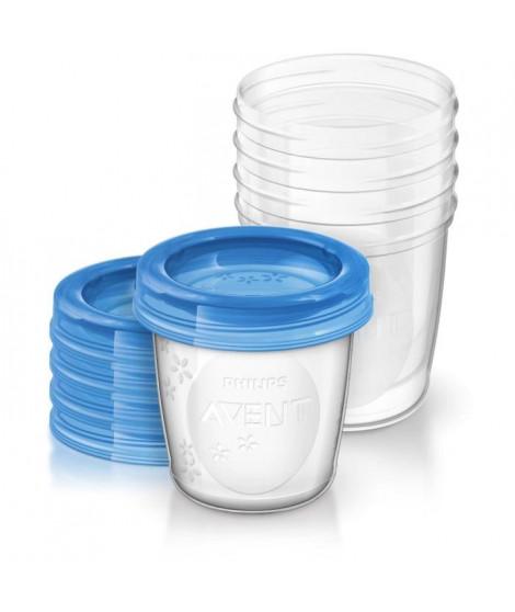 PHILIPS AVENT Pots de Conservation Réutilisables 240 ml
