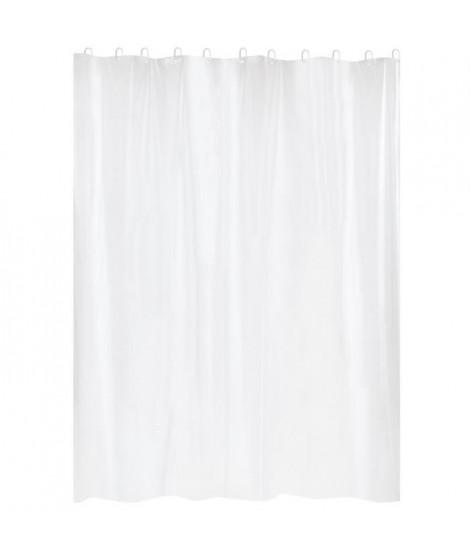 GELCO Rideau de douche First 180 x 200 cm blanc