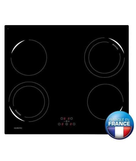 OCEANIC OCEATI4Z2B Table de cuisson a induction