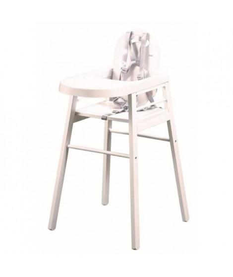 TINEO Chaise haute blanc