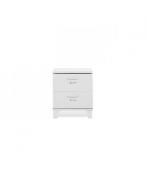 FACTORY Chevet industriel - Blanc - L 40 cm