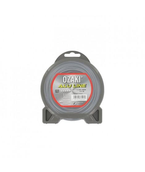 JARDIN PRATIQUE Fil nylon alu line OZAKI pour débroussailleuse - Ø 1,60  mm - L 15 m