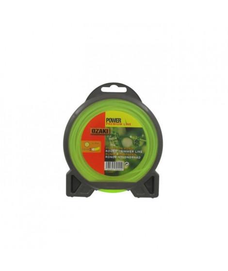 JARDIN PRATIQUE Fil nylon rond premium line OZAKI pour débroussailleuse - Ø 2 mm - L 15 m