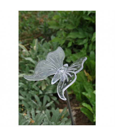 Décoration lumineuse a énergie solaire: papillon