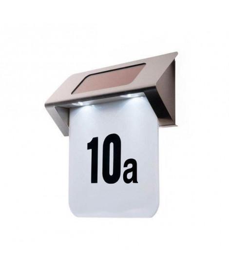 Numéro de maison -2 LED - Solaire