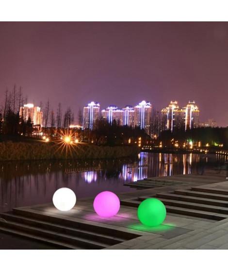 LUMISKY Sphere Led sans fil télécommandable 50 cm - Multicolore