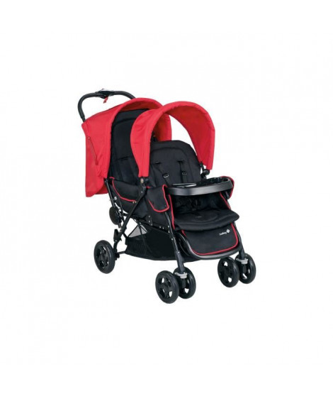 SAFETY 1ST Poussette Double Duodeal Plain Red