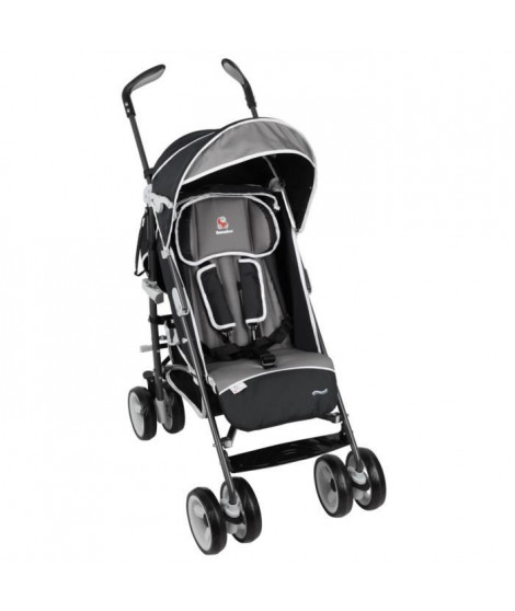RENOLUX Poussette Canne Travelling Black