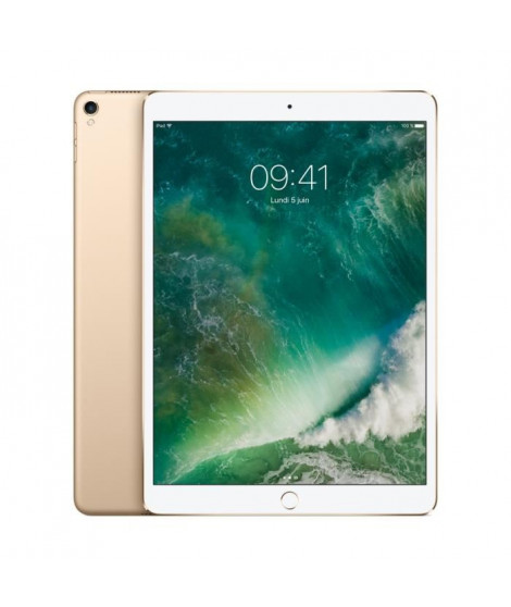 APPLE iPad Pro  - 10,5'' - Stockage 64Go - WiFi/4G - MQF12NF/A - Or - Nouveauté