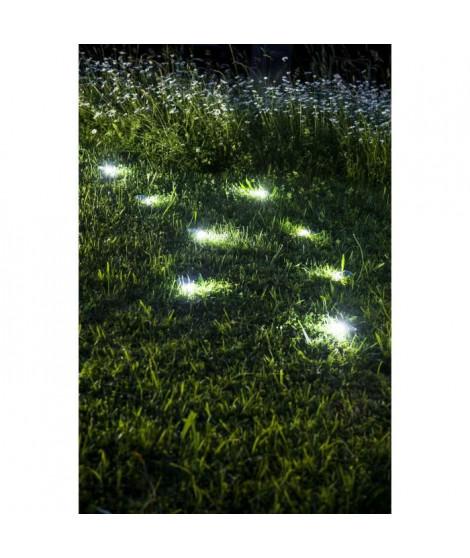 GALIX Décoration solaire galet - Polyrésine - 5 lumens