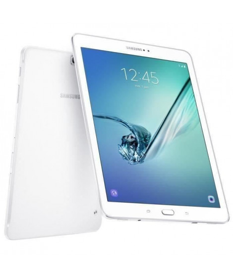 Samsung Galaxy Tab S2 - SM-T819NZWEXEF - 9,7' QXGA - 3Go RAM - Android 6.0 - Octo Core - ROM 32 Go - 4G - Blanc