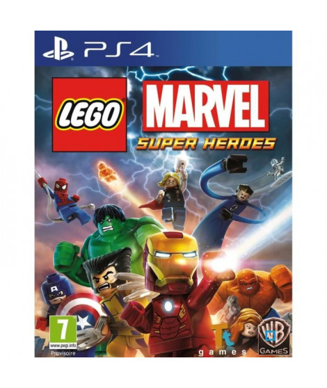 LEGO Marvel Super Heroes Jeu PS4
