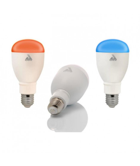 AWOX Kit 3 Ampoules couleur SmartLIGHT Color