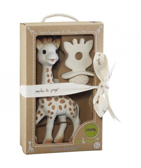 SOPHIE LA GIRAFE Coffret Natural Soother