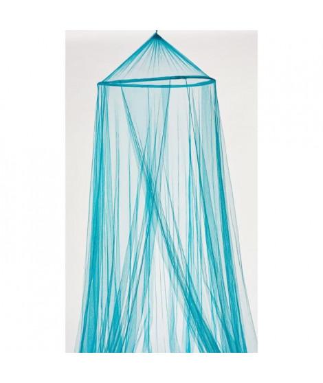 Moustiquaire Ciel de Lit 60x250x1200 cm bleu