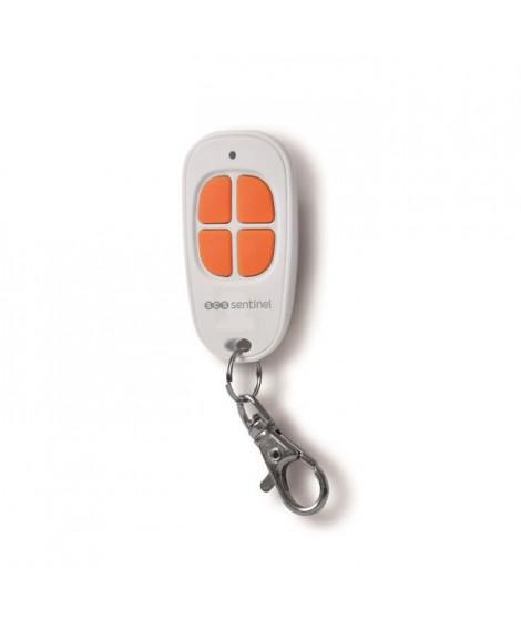 SCS SENTINEL Télécommande pour motorisation de portail 4 canaux blanc et orange