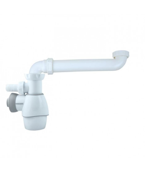 WIRQUIN Siphon Deporte télescopique tout en un D32-40 lavabo