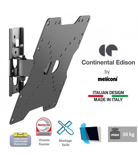 CONTINENTAL EDISON 200NCL12 Support TV inclinable