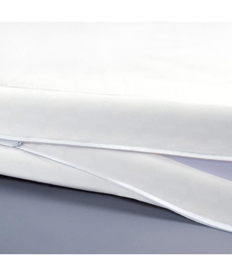 SWEETNIGHT Protege-matelas housse intégrale Allergostop - 160 x 200 cm