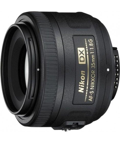 NIKON AF-S DX NIKKOR 35mm f/1,8 G Objectif pour appareil photo numérique Reflex