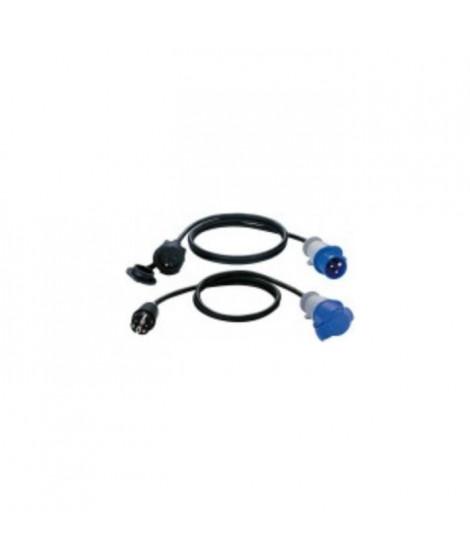 BRENNENSTUHL Adaptateur 1,5m H07RN-F 3G1.5 fiche P17 prolongateur 2P+T 16A/230V