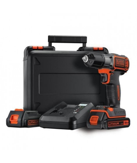 BLACK&DECKER Perceuse 2X18V AUTOSENSE