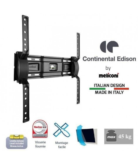 CONTINENTAL EDISON 400NCL12 Support TV mural inclinable