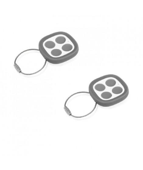 THOMSON Pack de 2 télécommandes universelles 500021 pour motorisation de portails et portes de garage