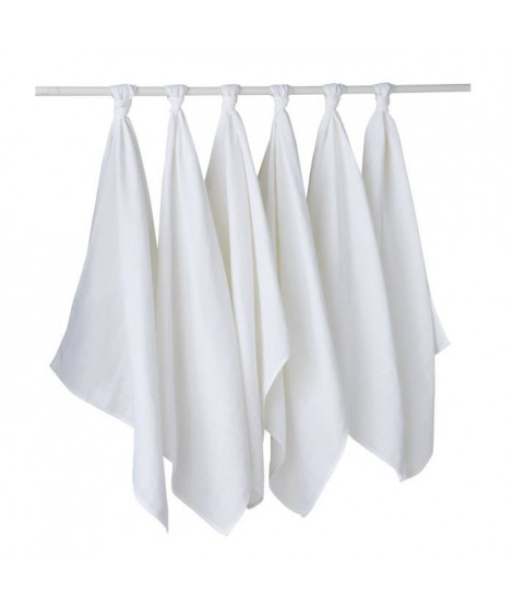 BABYCALIN 6 couches en tissu lavables